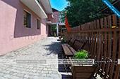 Во дворе - Гостевой дом Виктория - Приморский - Крым