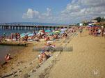 Галечный пляж в пос. Приморский